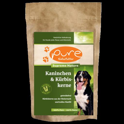 PURE Supreme Nature Kaninchen & Kürbiskerne 400g - GETREIDEFREI
