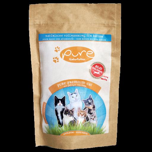 PURE Premium Cat Geflügel & Fisch 300g