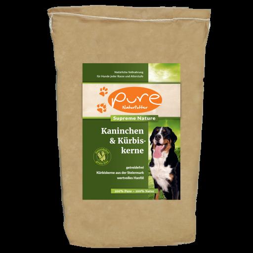 PURE Supreme Nature Kaninchen & Kürbiskerne 4kg - GETREIDEFREI