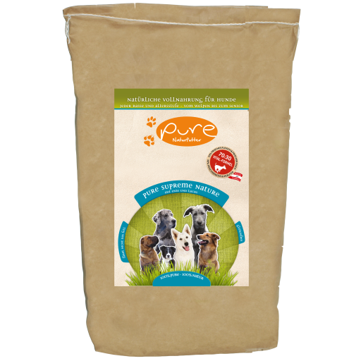 PURE Supreme Nature Ente & Lachs 5kg - GLUTENFREI
