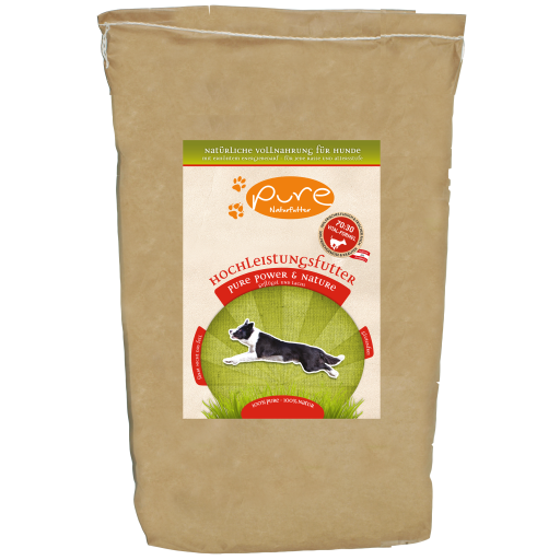 PURE Power & Nature Hochleistungsfutter 5kg - GLUTENFREI